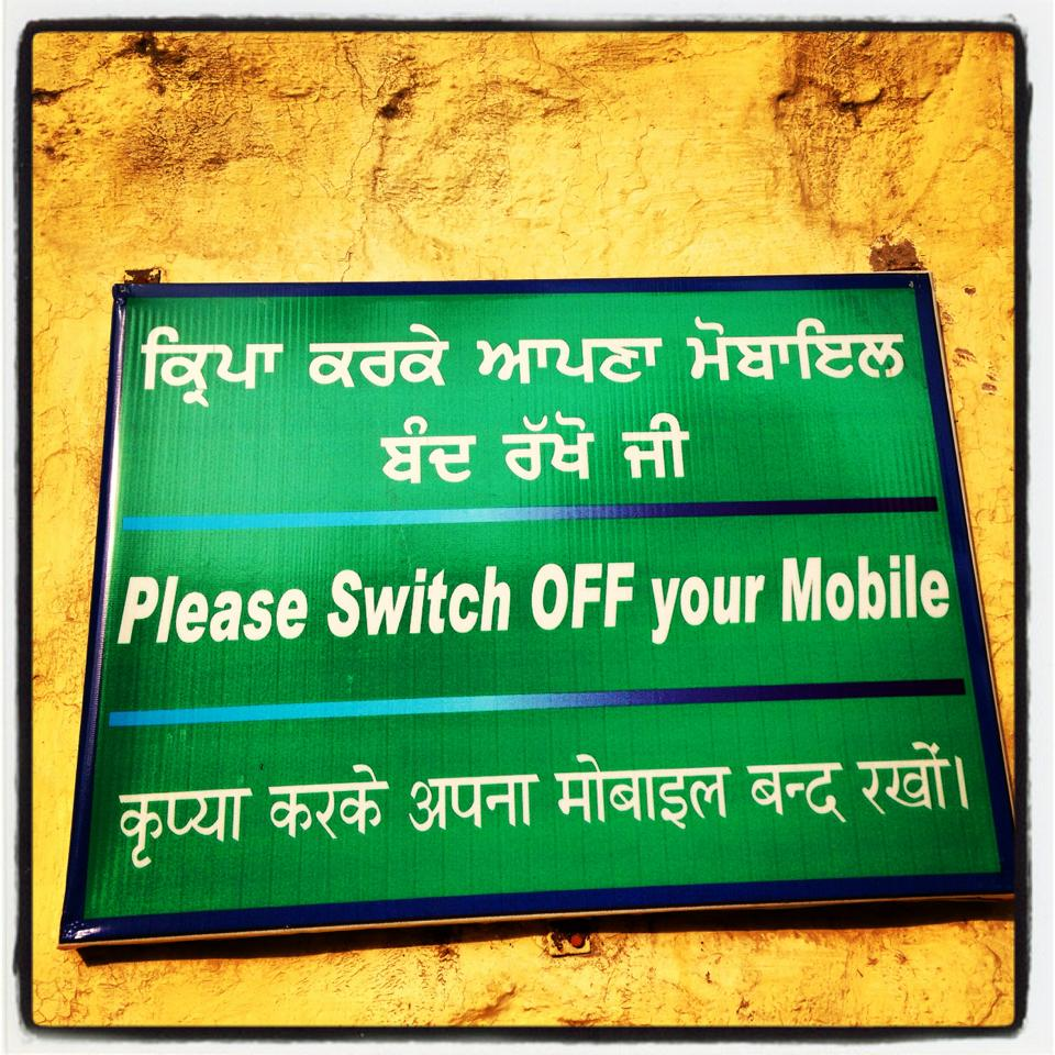 switch off your